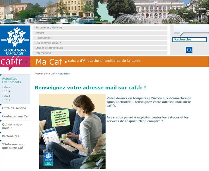 Mon Compte Caf Saint Etienne