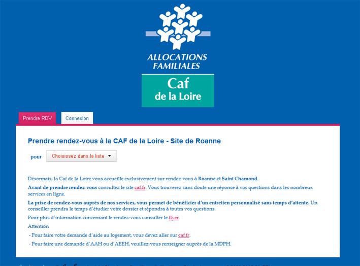 Rdv Caf Fr