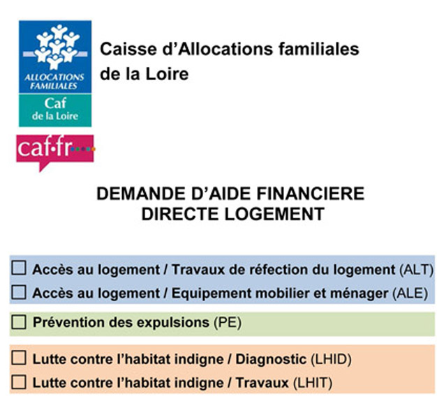 aide caf mobilier